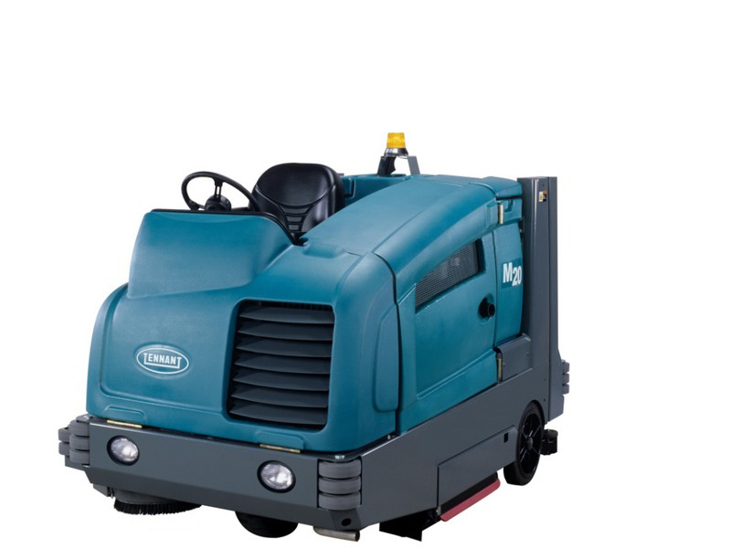 40 56 Quot Ride On Scrubber Sweeper Franklin Equipment Dayton