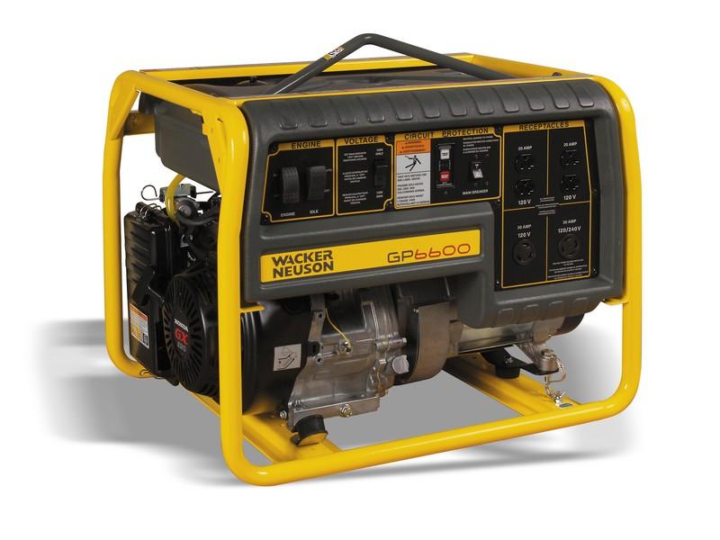 6600 Watt Generator Franklin Equipment Dayton