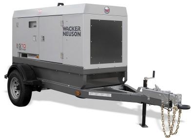 70KW Towable Generator